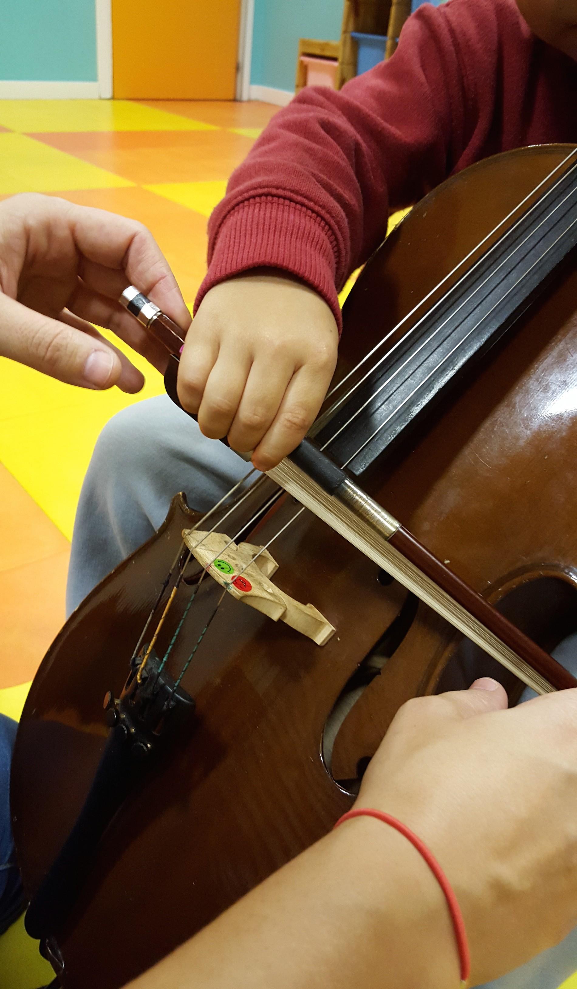 Prima Corda Escuela Suzuki - Violoncello niño