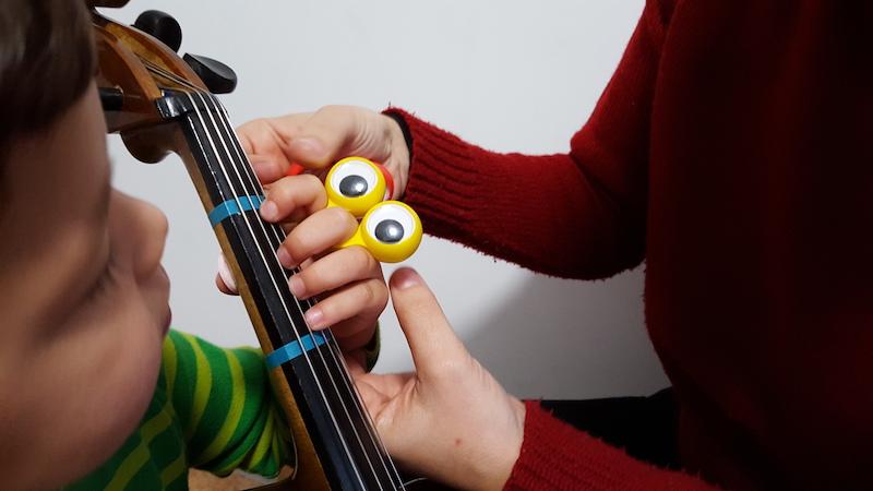 Prima Corda Escuela Suzuki - Dedos ojos
