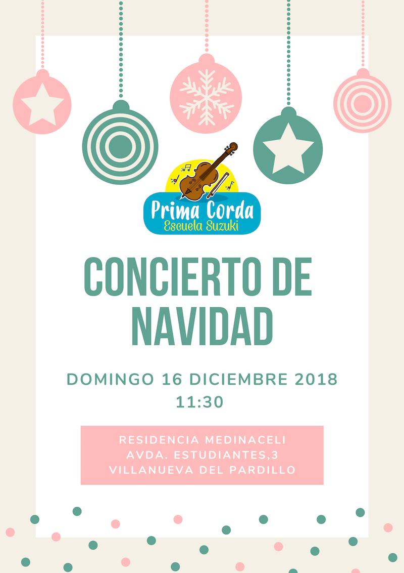 Concierto Navidad 2018 Primacorda